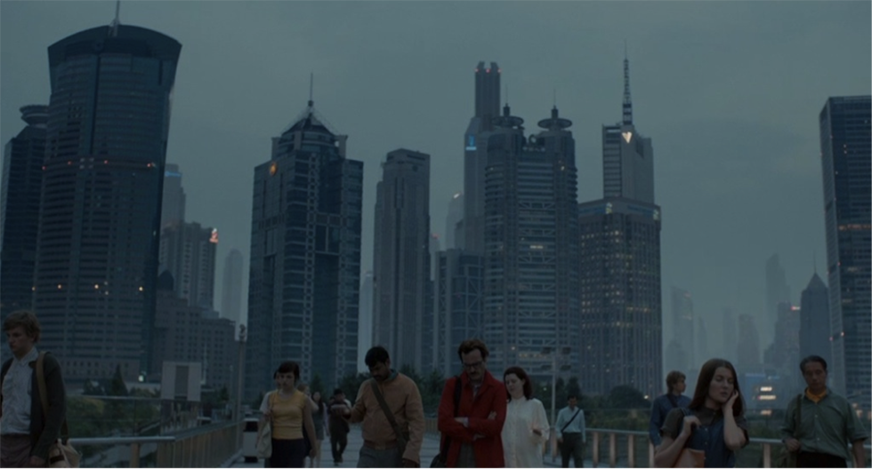 Los Angeles of the slight future: Shanghai's skyscrapers