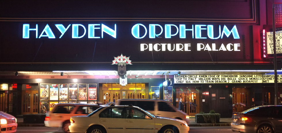 The Hayden Orpheum Picture Palace is one of the only cinemas in Sydney to maintain and use actual film prints
