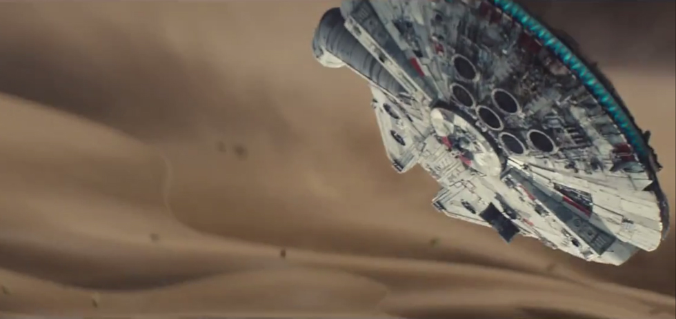 Star Wars Tries to Break The Internet in 88 Seconds