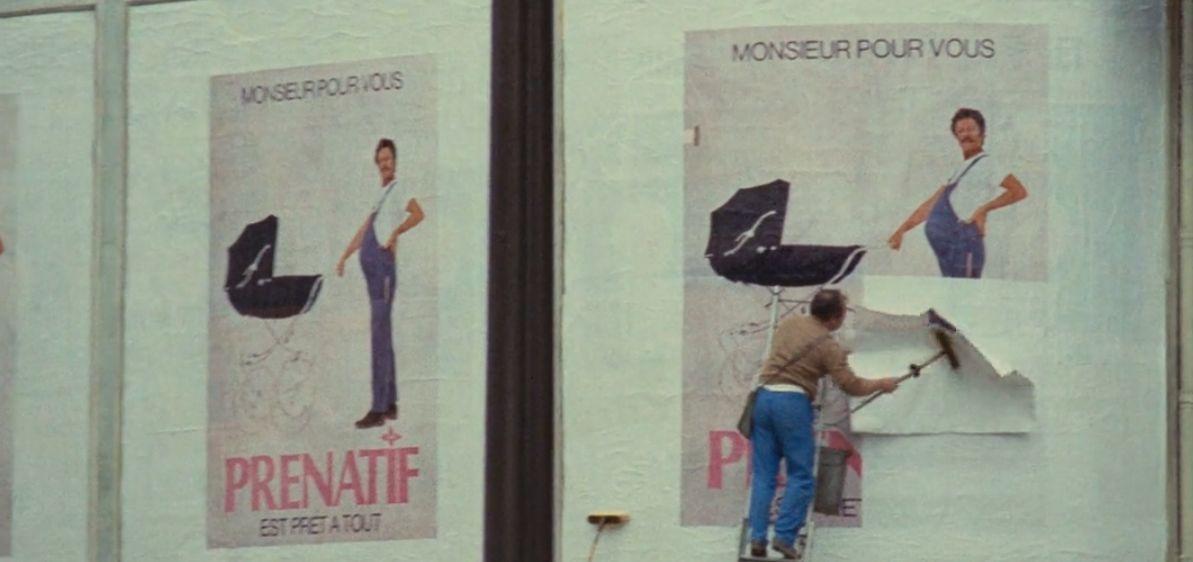 A Slightly Pregnant Man (dir. Jacques Demy, 1973)