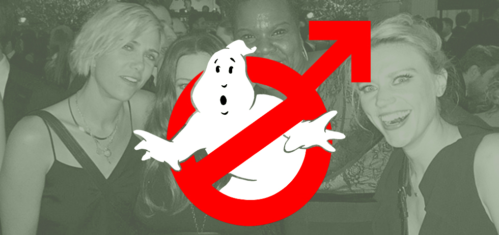 "Ghostbusters Studio Announces ""For Men"" Sequel"