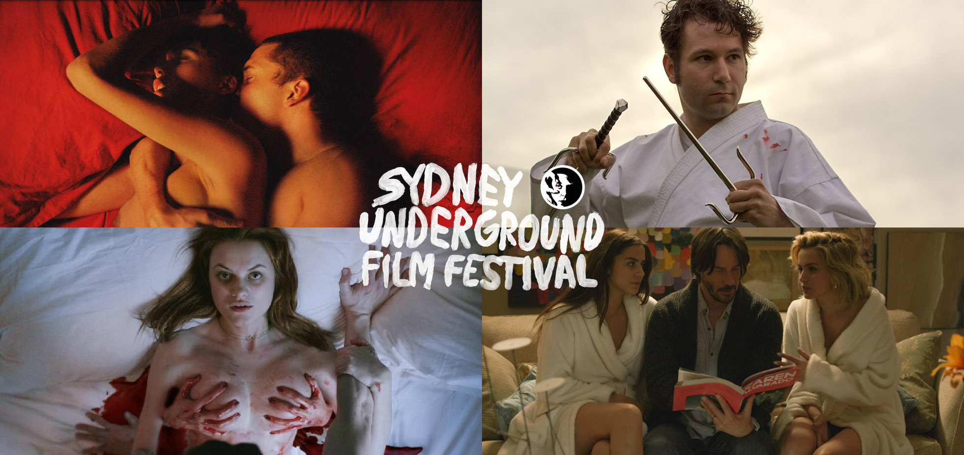 9th Sydney Underground Film Festival announced featuring Roth, Noé, Dead Girlfriends & Cannibal Cops
