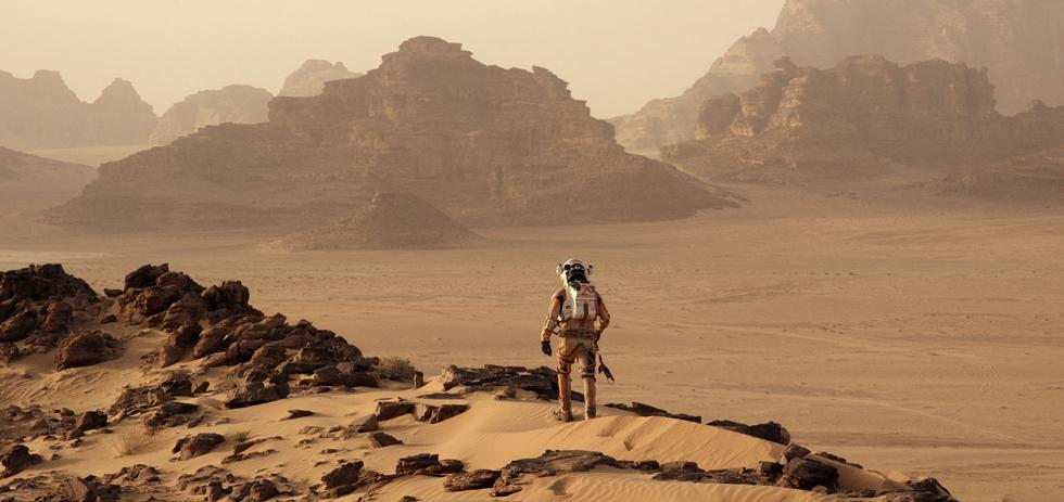 The Martian, Matt Damon, Ridley Scott